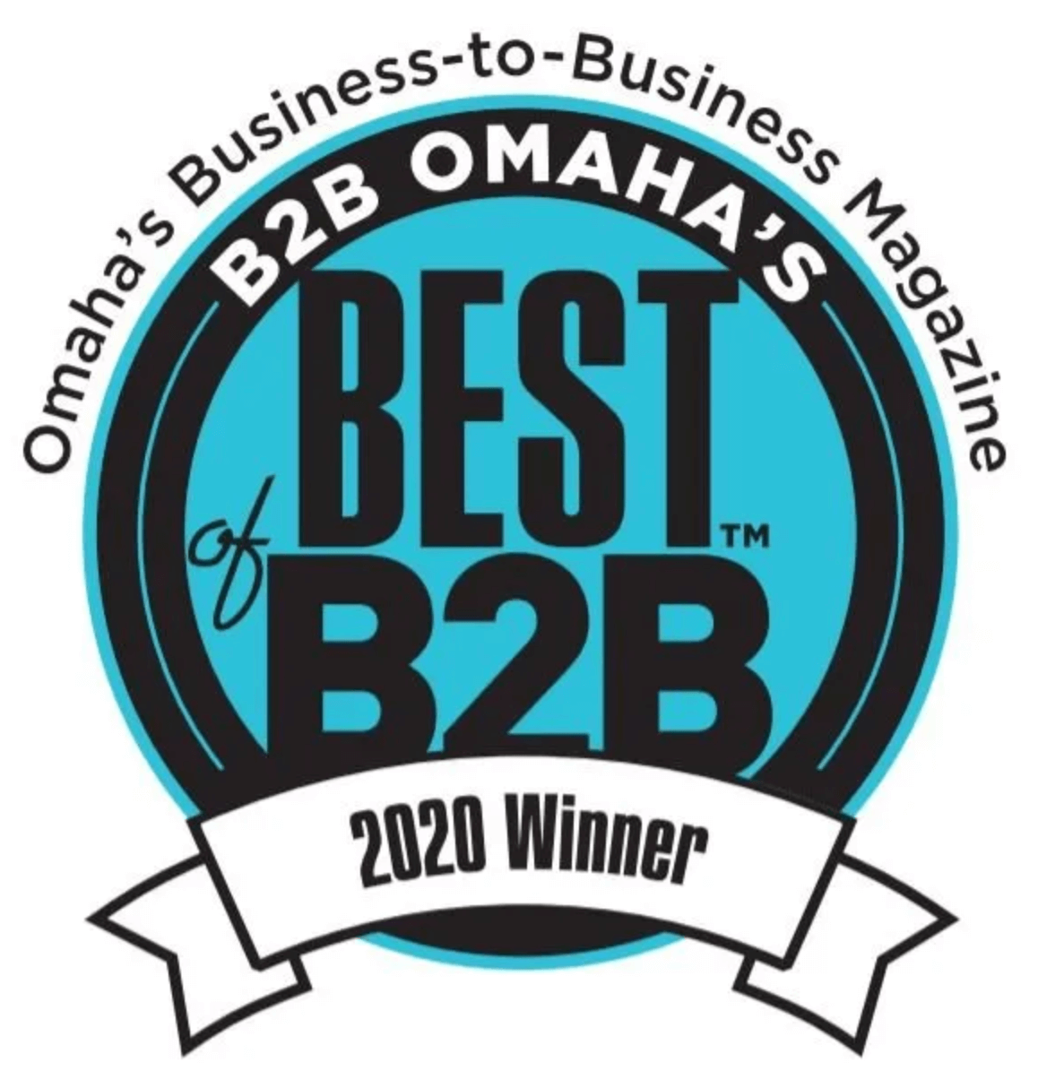 2020 omaha's best of business to business award winner